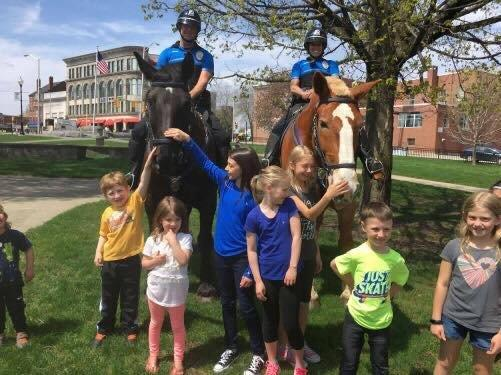 Mounted Patrol Children's Museum April Vacation 2017