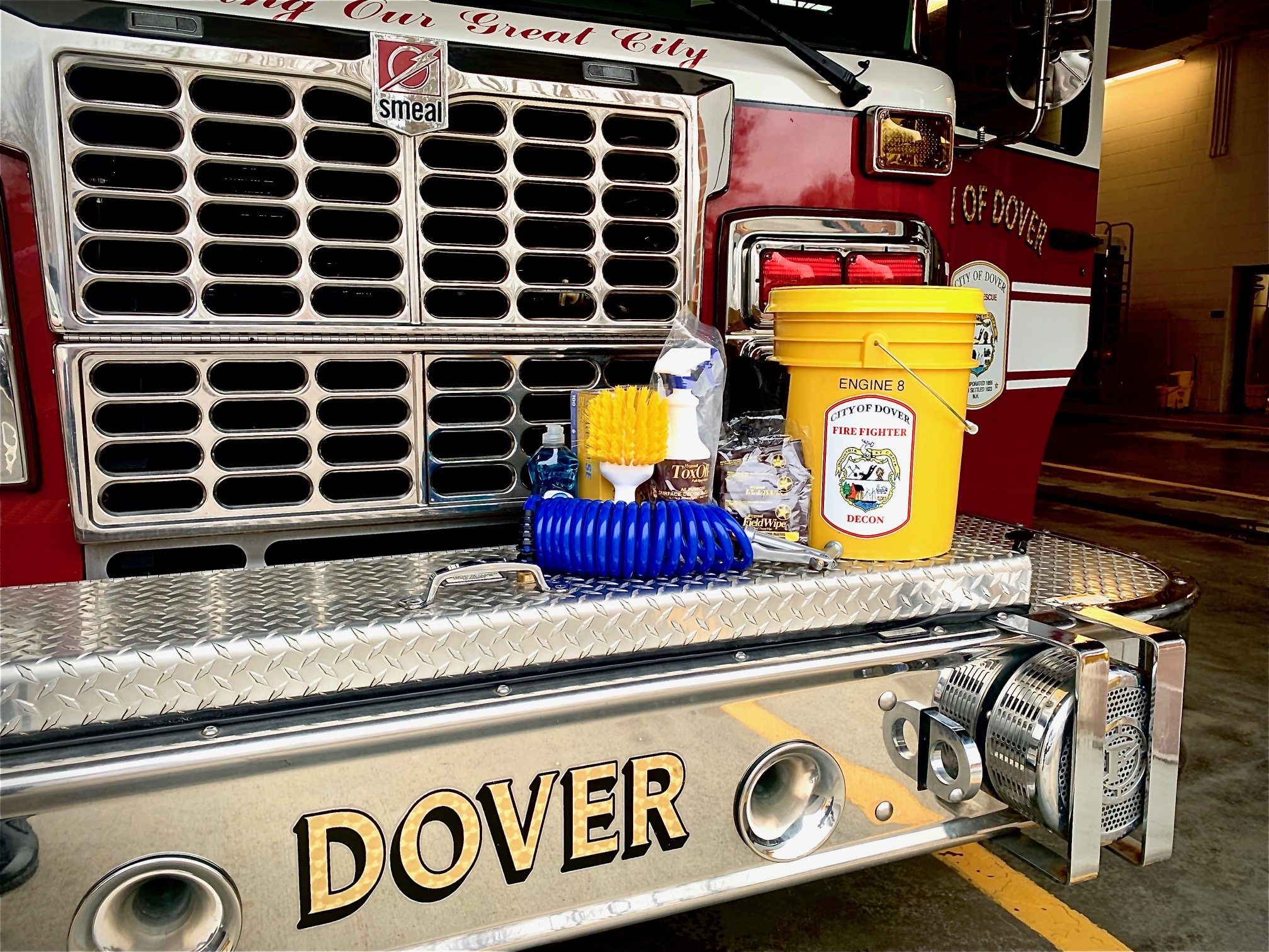 Dover Fire Decontamination Contents